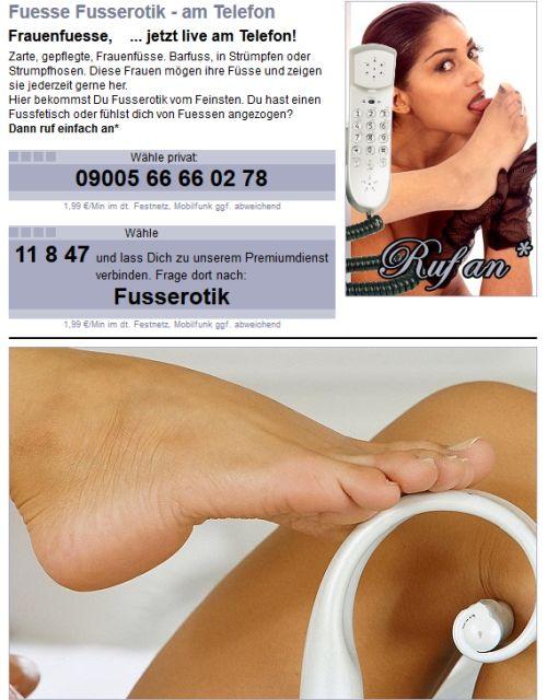 Fuss-Erotik Kontakte